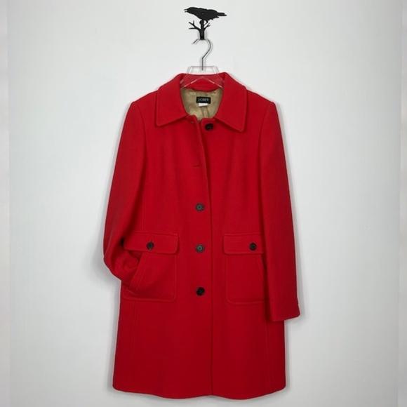 J. Crew Jackets & Blazers - J. Crew Vintage Italian Wool Lady Day Coat